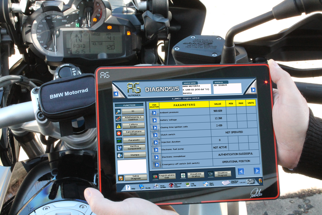 GALILEO Motorrad Professional diagnostics for BMW Motorcycles